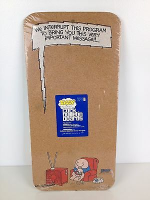 NEW Sealed VTG Ziggy Tom Wilson Bulletin Cork Board 1980 Very Important Message