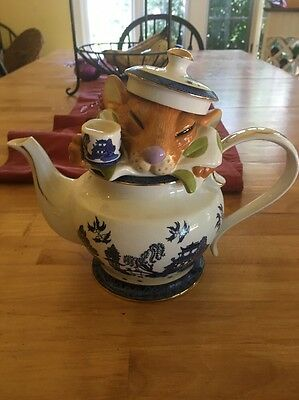 Paul Cardew Dormouse Limited Addition Numbered Teapot