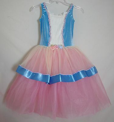 Curtain Call Tutu Costume Dance Leotard Ballet Pageant Girl Large Adult XS