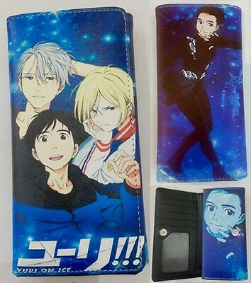 Yuri On Ice Big Wallet  USA SELLER!!! FAST SHIPPING!