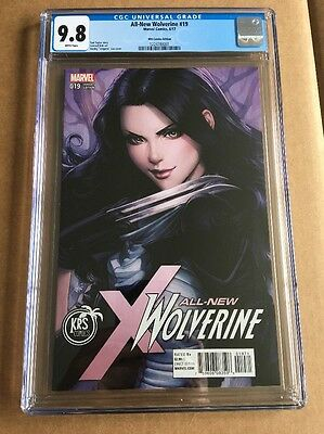 ALL-NEW WOLVERINE #19 (2017) CGC 9.8 (NM+/M) New Costume Artgerm 1st Print