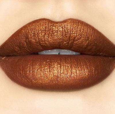 Sugarpill Cosmetics PUMPKIN SPICE Liquid Matte Metallic Lipstick Lip Color