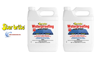 Star Brite 2 Gallons Fabric Waterproofing with PTEF 81900 Good for Boat Cleaning