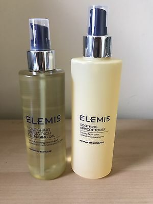 Elemis Nourishing Omega Rich Cleansing Oil 195ml & Soothing Apricot Toner 200ml