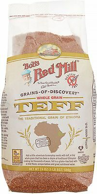 Bob's Red Mill Whole Grain Teff 24 oz (Pack of 3)