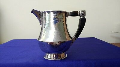 Arts and Crafts Sterling Silver Cream jug