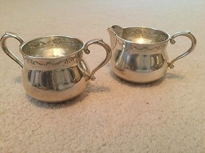 Towle Sterling Silver Creamer and Open Sugar Set