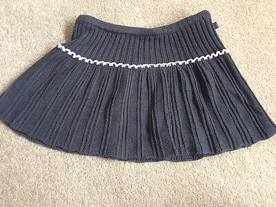 Girls Age 18-24 Month Navy Blue With Pink Trim Skirt