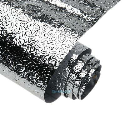 1 Roll Waterproof Damp Proof Anti-Oil Self-adhesive Foil Stickers Kitchen Decor
