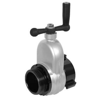 MOON AMERICAN Gate Valve,Female NH,Aluminum,Non Rising, 734-2524