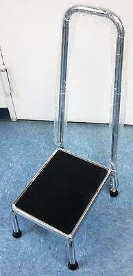 TECHMED Foot Stool w/ Handrail Ref. 4349  (NEW)
