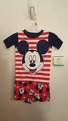 Disney Mickey Mouse 2pc Sleep Set ~ 24m ~ Brand New With Tags