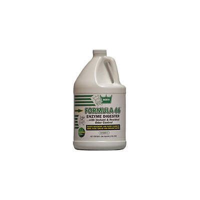 WERTH SANITARY SUPPLY Formula 66 Bio-Based Enzyme,1 gal,PK4, 100211, Beige