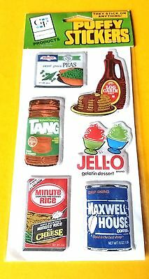 1983 General Foods Puffy Stickers-Sealed-Nice
