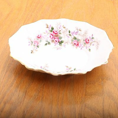 Royal Albert England Bone China Lavender Rose Soup or Cereal Bowl Vintage