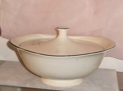 Taylor Smith Taylor Candlelight Covered Vegetable Bowl MCM Design