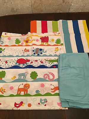 Ikea Crib set Barnslig Quilt Cover & Vitaminer fitted sheet and pillow cover