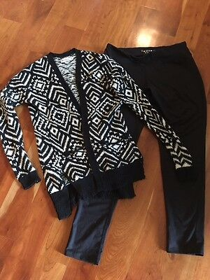 Youth Abercrombie Sweater and SoyBu leggings