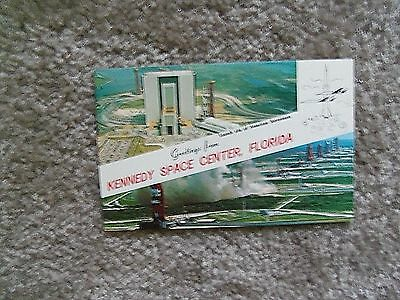 Postcard Kennedy Space Center, Florida Launch Sites Of America Astranaunts