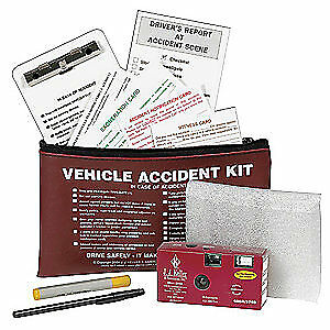 JJ KELLER Accident Report Kit,Audit/Inves/Records, 5754