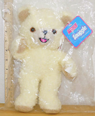 "New in Package Lever Snuggle Bear Plush 10"" Fabric Softener Teddy 1996 Greystone"