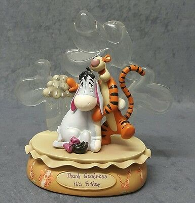 "DISNEY-BRADEX ""Winnie the Pooh"" Tiger/ Eeyore Resin Figurine Limited Edition"