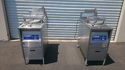 Broaster Chicken Fryer Model 1800GH with Filtration System in Natural Gas