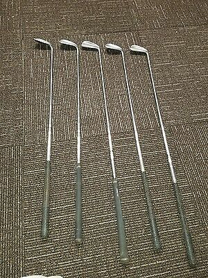 Vintage Collectible Lynx Master Model Irons 4,5,8,9,S