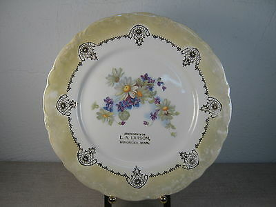 Antique Advertising Plate from the L.A. Larson Grocery Store in Hendricks, MN