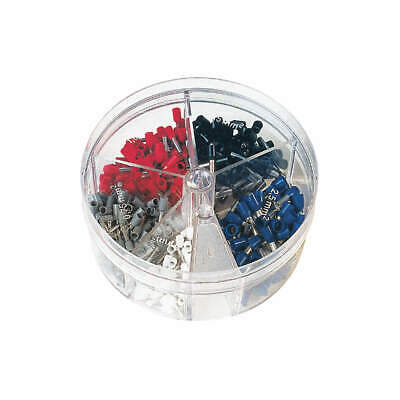 PANDUIT Ferrule Assort Kit,150 Pieces,#24-18 AWG, KP-FSD1