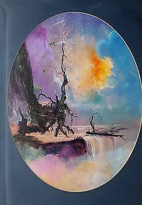 Beautiful!! Vintage Oil Painting Signed 1974 & The Artist (Which I Can't Read!)