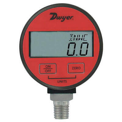 DWYER Digital Pressure Gauge,15 PSI, DPGA-05