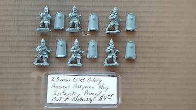 25mm Old Glory Ancient Assyrian Heavy Infantry