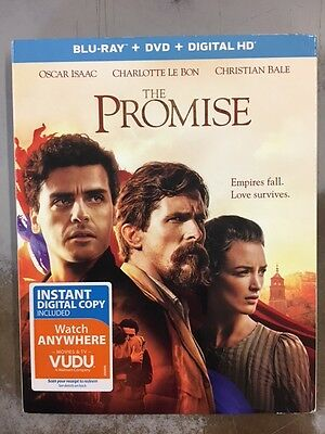 The Promise (Blu-ray + DVD + Digital HD) NEW w/ slipcover