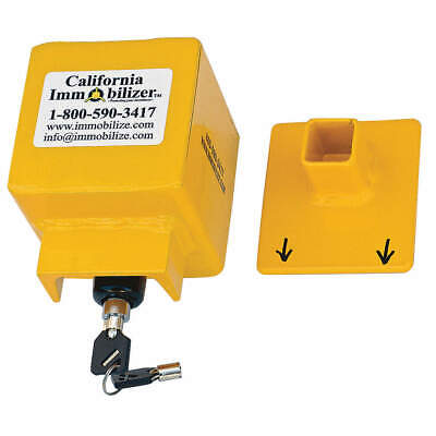 CALIFORNIA IMMOBILIZER Surge  Coupler Lock,For Boat Trailers, G00101