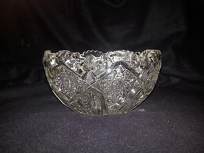 Perfect And Beautiful Vintage Lead Crystal Bowl