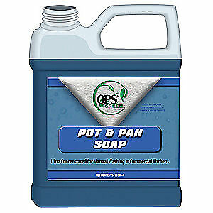 OPS Ultra Concentrated Pot and Pan Soap, 4002-01G, Blue