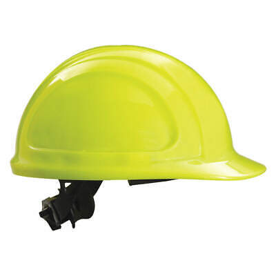 HONEYWELL NO Hard Hat,4 pt. Ratchet,Hi-Vis Ylw, N10R440000, Hi-Visibility Yellow