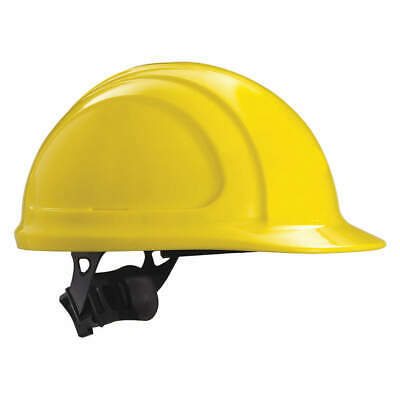 HONEYWELL NORTH Hard Hat,4 pt. Ratchet,Ylw, N10R020000, Yellow