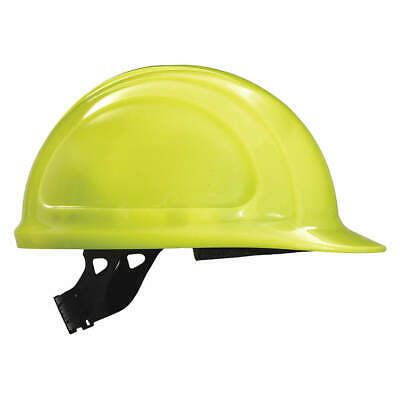HONEYWELL NOR Hard Hat,4 pt. Pinlock,Hi-Vis Ylw, N10440000, Hi-Visibility Yellow