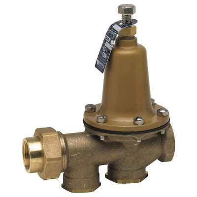 WATTS Lead Free Brass Water Pressure Reducing Valve,1-1/2 In., 11/2 LF 25AUBZ3