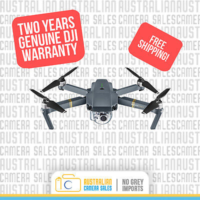 DJI Mavic Pro + 2 Years Warranty *Authorised DJI Australia Dealer*