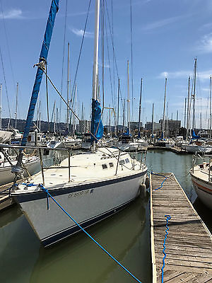1979 O'day 30' Sailboat Good Cond In The Water Dockside In Emeryville Ca. (Leac)