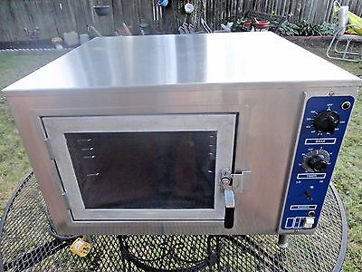 NU VU Circulating Air Oven 120 Volt Electric Food Service Counter Bakery Oven