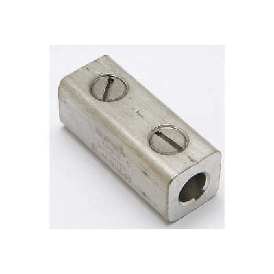 BURNDY Tin-Plated Aluminum Mechanical Conn,Splice,1/0 to 14 AWG, AMS0