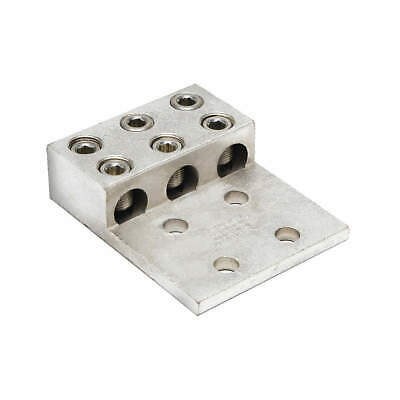 BURNDY Tin-Plated Aluminum Mechanical Conn,Lug,600 kcmil to 2 AWG, KK3A36U4N