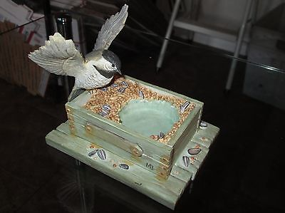 Marjolein Bastin Nature's Sketchbook Hallmark Bird TEA LIGHT HOLDER Feeder