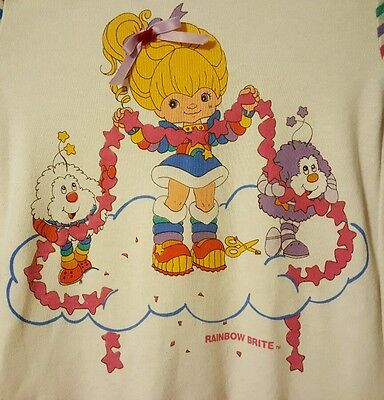 Vintage Dobie Rainbow Brite Children's Size 5 dress