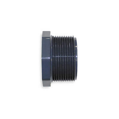 GF PIPING SYSTEMS Reducer Bush,1-1/2 x 1-1/4In,MPTxFPT,PVC, 839-212, Gray