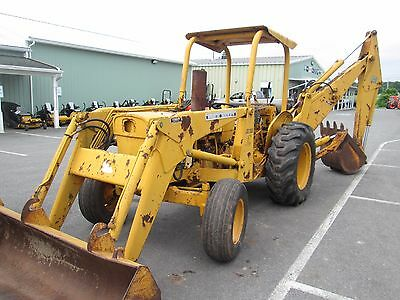 "John Deere JD 300-E gas tractor loader backhoe industrial TLB 24"" bucket"